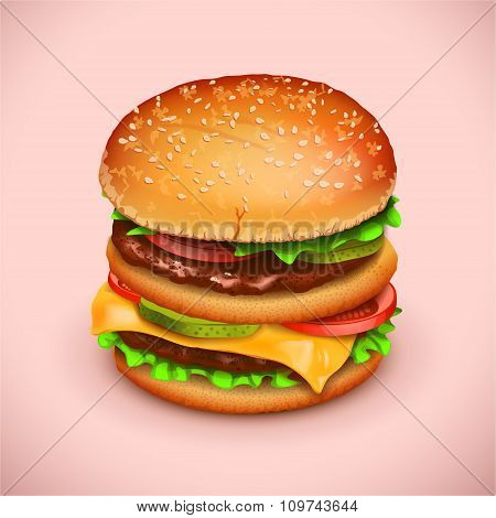 picture of hamburger
