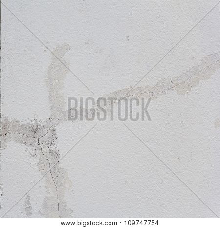 White Crack Wall Texture