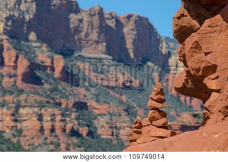 Cairn in Sedona, Arizona