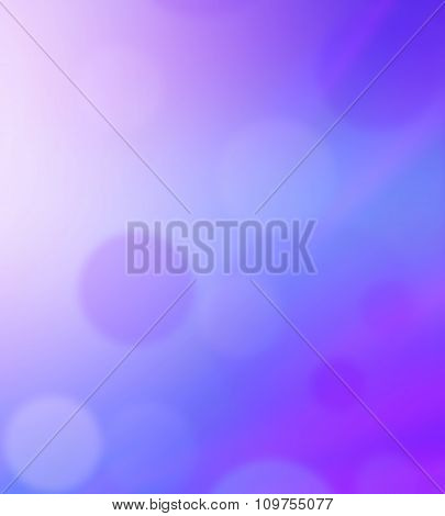 Bright Colorful Sun And Sea Abstract Bokeh Background