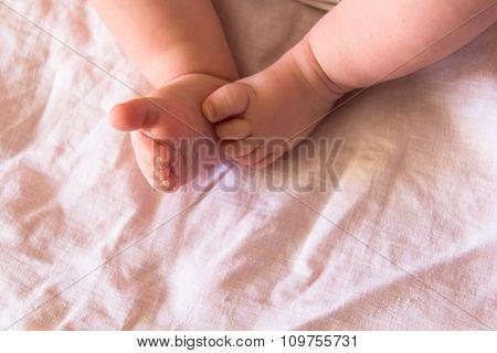 Feet Of Newborn