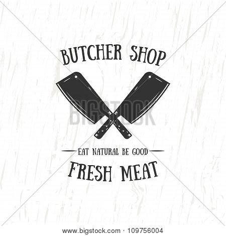 Butcher Shop Emblem