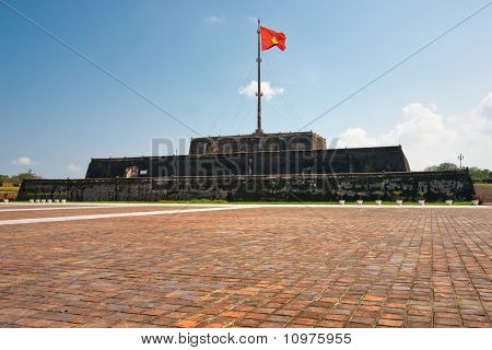Flag Tower (cot Co) Hue Citadel, Vietnam