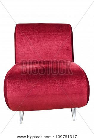 Red Sofa Seat