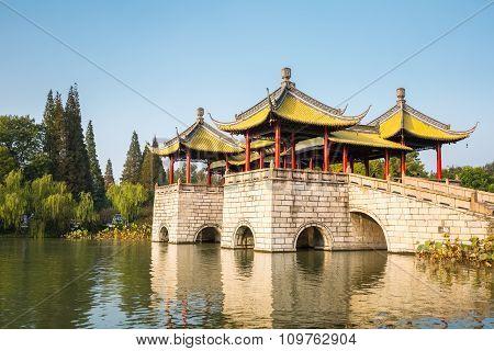 Yangzhou Five Pavilion Bridge