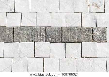 Granite Cobblestone Background