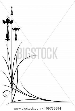 Stylized Fuchsia