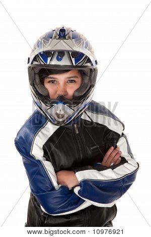 Latina Biker