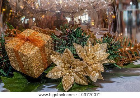 Table Christmas ornaments
