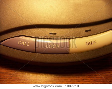Botões de intercomunicação