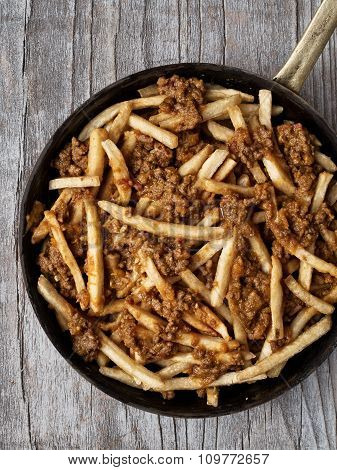 Rustic American Chili Fries