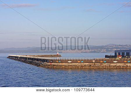 Breakwater, Victoria Harbour