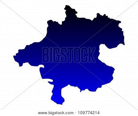 Map Of Upper Austria