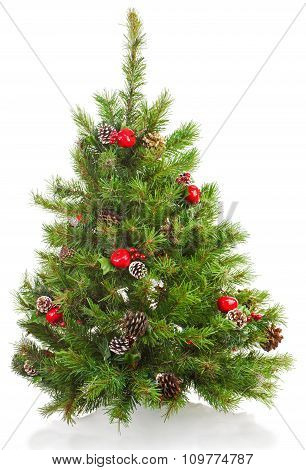 Christmas Tree With Decorations.