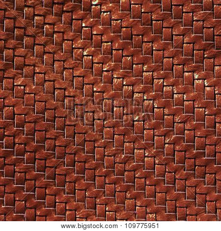 Braided Leather Texture