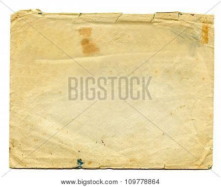 Old Envelope Brown-Cream