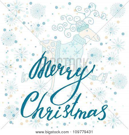 Holiday Card Merry Christmas