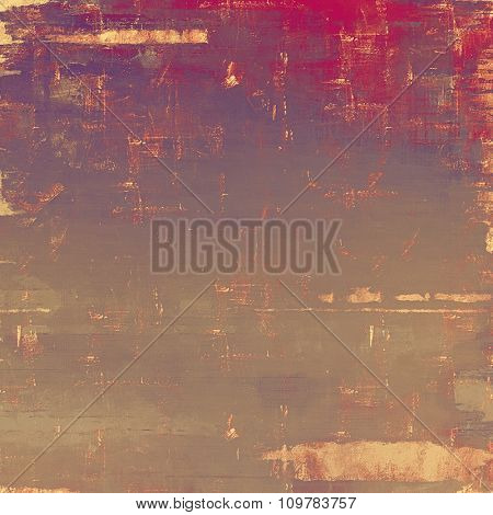 Old antique texture - perfect background with space for your text or image. With different color patterns: yellow (beige); brown; red (orange); purple (violet)
