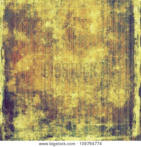 Art grunge vintage textured background. With different color patterns: yellow (beige); brown; purple (violet); gray
