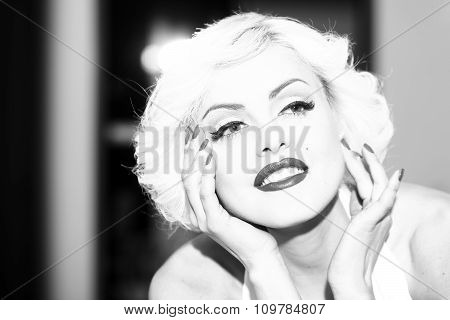 Attractive Woman Portrait