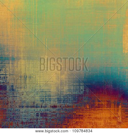 Vintage old texture with space for text or image, distressed grunge background. With different color patterns: yellow (beige); blue; purple (violet); green