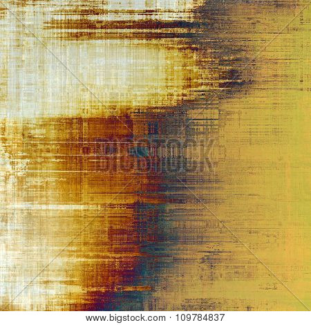 Old, grunge background texture. With different color patterns: yellow (beige); brown; blue; purple (violet); white