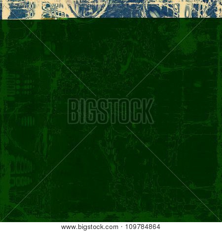 Antique vintage texture or background. With different color patterns: yellow (beige); blue; gray