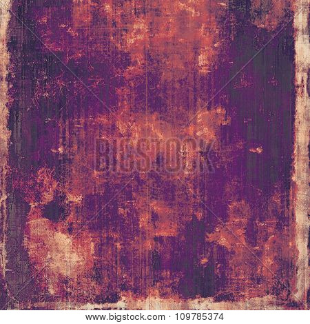 Grunge colorful texture for retro background. With different color patterns: yellow (beige); red (orange); purple (violet); pink