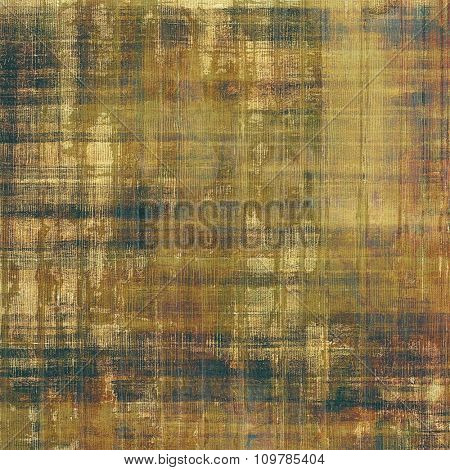 Vintage old texture for background. With different color patterns: yellow (beige); brown; black; gray