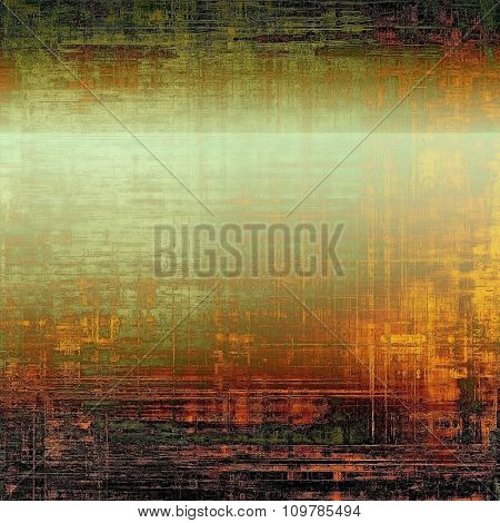 Grunge background or texture for your design. With different color patterns: yellow (beige); red (orange); black; green