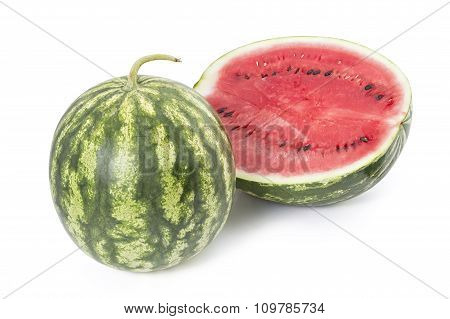 Sweet ripe watermelon