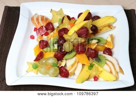 Vitamin And Nutritious Fruit Salad