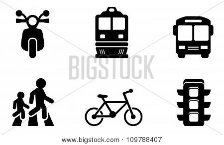 transport icons collections