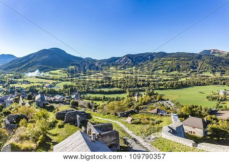 Citadel Vauban In  Seyne Les Alpes In The French Region Provence Des Haut Alpes