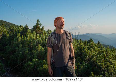 Satisfied Hiker
