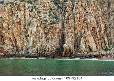 Rock Formation In Cabo San Lucas