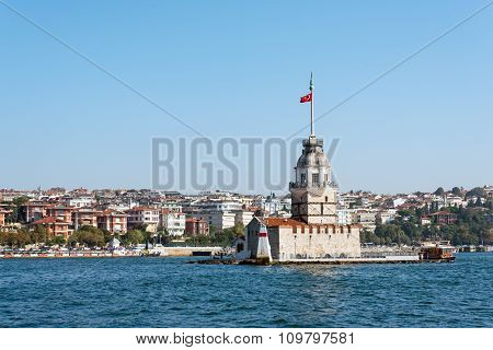 The famous Maidens Tower, Istanbul
