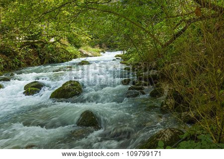 Stormy Mountain River