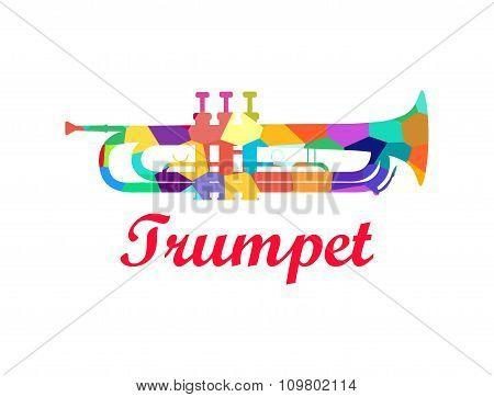 Trumpet - Brass Orchestra Musical Instrument