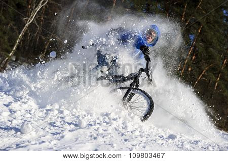 Winter extreme cycling