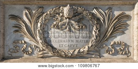 San Giovanni Cathedral's Plate