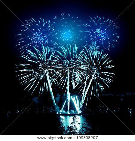 Celebratory Bright Firework