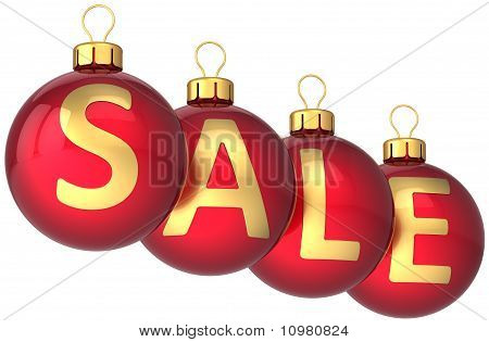 Sale winter decoration