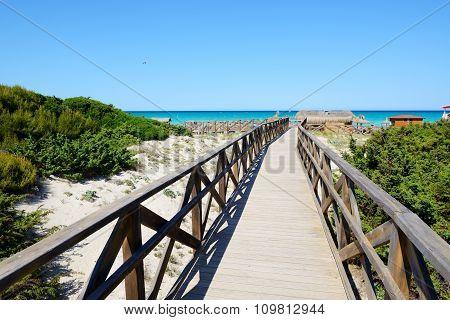 The Way To A Beach, Mallorca, Spain