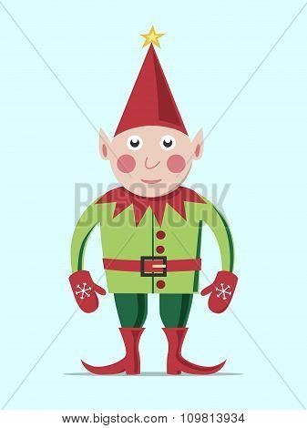 Christmas Elf Standing