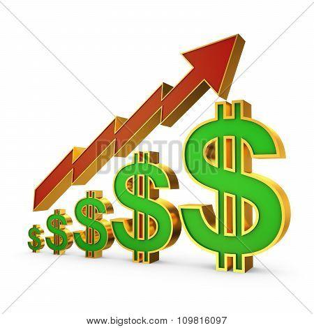 Dollars And Arrow