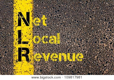 Business Acronym Nlr As Net Local Revenue