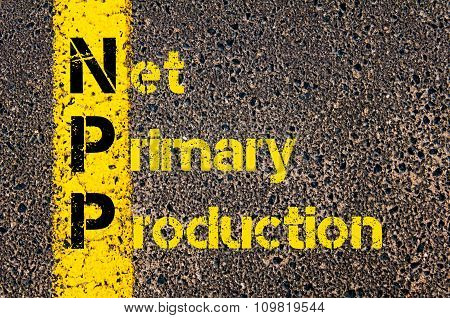 Business Acronym Npp As Net Primary Production