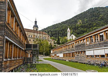 School building in Chur, Switzerland