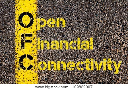 Accounting Business Acronym Ofc Open Financial Connectivity